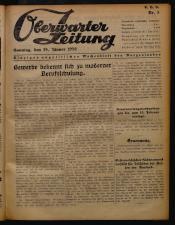Oberwarther Sonntags-Zeitung 19500129 Seite: 1