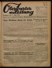 Oberwarther Sonntags-Zeitung 19500507 Seite: 1