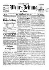 Der Kamerad: österreichisch-ungarische Wehr-Zeitung