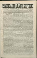 Oesterreichisch- ungarische Eisenbahn-Zeitung