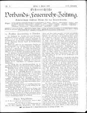 Österreichische Verbands-Feuerwehr-Zeitung 18930105 Seite: 1