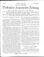 Österreichische Verbands-Feuerwehr-Zeitung 18930620 Seite: 1