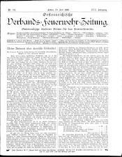 Österreichische Verbands-Feuerwehr-Zeitung 18930720 Seite: 1