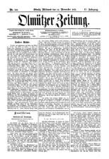 Olmützer Zeitung
