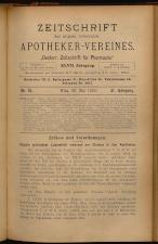 Österreichische Zeitschrift für Pharmacie 18930520 Seite: 1