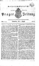 K. K. priv. Prager Zeitung