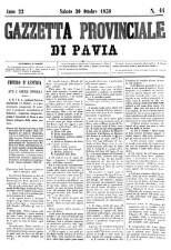 Gazzetta della provincia di Pavia