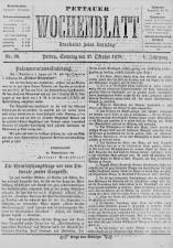 Pettauer Wochenblatt