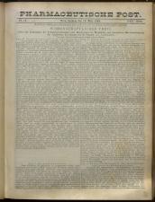 Pharmaceutische Post 18930319 Seite: 1