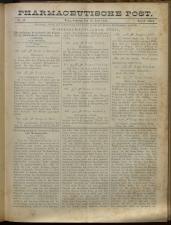 Pharmaceutische Post 18930716 Seite: 1