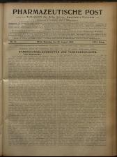 Pharmaceutische Post 19240830 Seite: 1