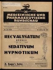 Pharmazeutische Rundschau