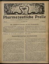 Pharmaceutische Presse