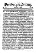 Preßburger Zeitung
