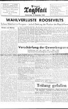 Prager Tagblatt 19381110 Seite: 1