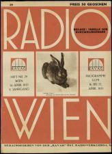 Radio Wien 19330414 Seite: 1