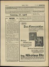 Radio Wien 19330421 Seite: 33
