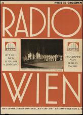 Radio Wien 19330512 Seite: 1