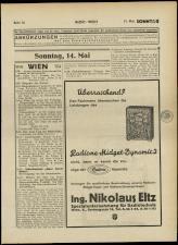 Radio Wien 19330512 Seite: 33