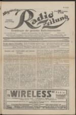 Allgemeine Radio-Zeitung