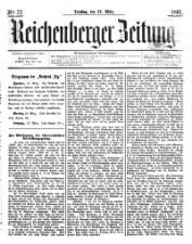 Reichenberger Zeitung