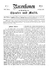 Recensionen und Mittheilungen über Theater und Musik 18650128 Seite: 1