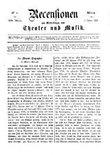 Recensionen und Mittheilungen über Theater und Musik 18650211 Seite: 1