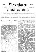 Recensionen und Mittheilungen über Theater und Musik 18650311 Seite: 1