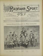 Radfahr-Sport