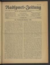 Radsport-Zeitung