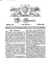 Der Sammler. Ein Unterhaltungsblatt