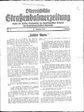 Österreichische Straßenbahnerzeitung