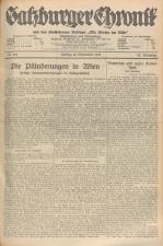 Salzburger Chronik für Stadt und Land 19270923 Seite: 1