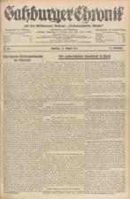 Salzburger Chronik für Stadt und Land 19350817 Seite: 1