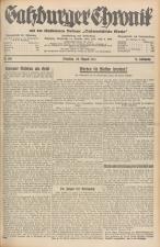 Salzburger Chronik für Stadt und Land 19350820 Seite: 1