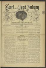 Sport- und Jagdzeitung