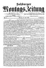 Salzburger Montags-Zeitung