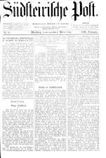 Südsteirische Post 18930304 Seite: 1