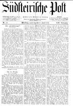 Südsteirische Post 18930617 Seite: 1