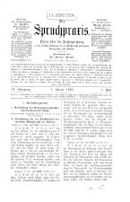 Die Spruchpraxis 18930101 Seite: 1