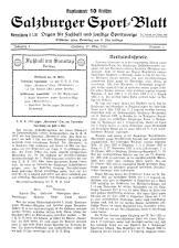 Salzburger Sportblatt