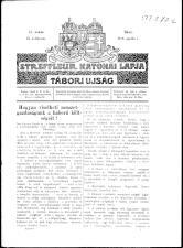 Streffleur katonai lapja: Tábori ujság