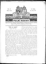 Streffleurovy vojenské listy: Plní noviny