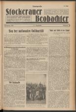 N.-Oe. Landpresse Stockerauer Zeitung 19381203 Seite: 1