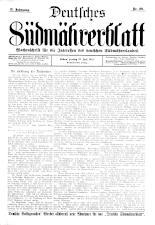 Deutsches Südmährerblatt