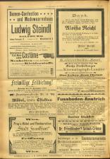 Salzburger Volksblatt: unabh. Tageszeitung f. Stadt u. Land Salzburg 19010906 Seite: 8