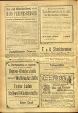 Salzburger Volksblatt: unabh. Tageszeitung f. Stadt u. Land Salzburg 19010907 Seite: 14