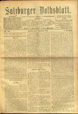 Salzburger Volksblatt: unabh. Tageszeitung f. Stadt u. Land Salzburg 19010907 Seite: 1