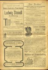 Salzburger Volksblatt: unabh. Tageszeitung f. Stadt u. Land Salzburg 19010907 Seite: 20