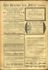 Salzburger Volksblatt: unabh. Tageszeitung f. Stadt u. Land Salzburg 19010907 Seite: 22
